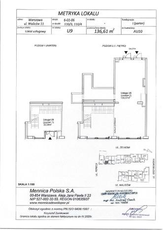 Lokal usługowy w inwestycji Pasaż Mennica Residence, Warszawa, 137 m²   Morizon.pl   0293