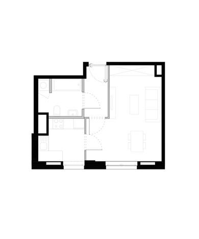 Mieszkanie w inwestycji ZAKĄTEK CYBISA, Warszawa, 84 m² | Morizon.pl | 4339
