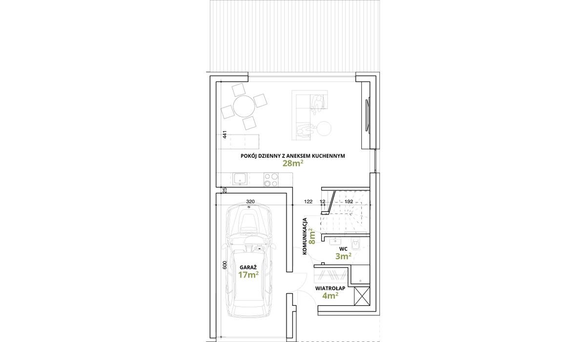Dom w inwestycji Osiedle Magnice Etap II, Magnice, 121 m²   Morizon.pl   5350