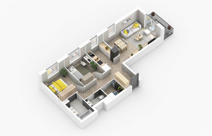 Mieszkanie w inwestycji Golden Space, Warszawa, 68 m²   Morizon.pl   5772