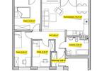 Mieszkanie w inwestycji Osiedle Ogrodowe - Świętochłowice, Świętochłowice, 70 m²   Morizon.pl   7544 nr2