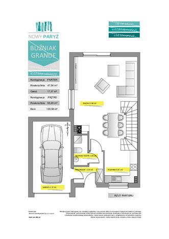 Dom w inwestycji Nowy Paryż - Ruda Śląska, Ruda Śląska, 130 m²   Morizon.pl   2069