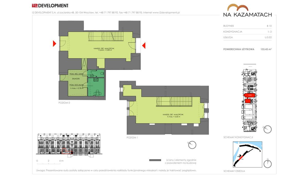 Lokal użytkowy w inwestycji Na Kazamatach, Wrocław, 133 m² | Morizon.pl | 6683