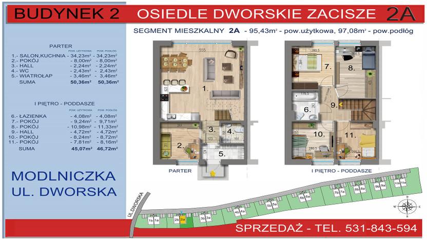 Dom w inwestycji Osiedle Dworskie Zacisze, Modlniczka, 95 m² | Morizon.pl | 3744