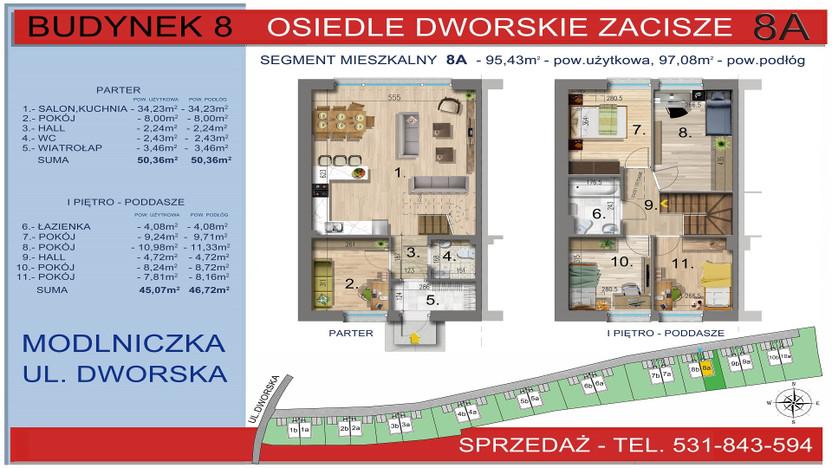 Dom w inwestycji Osiedle Dworskie Zacisze, Modlniczka, 95 m² | Morizon.pl | 3756