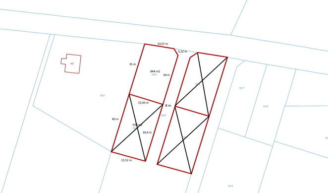 Morizon WP ogłoszenia | Działka na sprzedaż, Przyjaźń Łąkowa, 844 m² | 4114