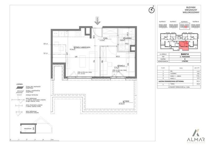 Morizon WP ogłoszenia | Mieszkanie na sprzedaż, Warszawa Wilanów, 35 m² | 9815