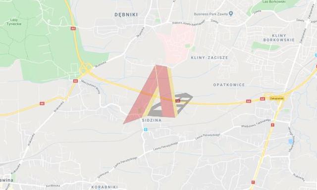 Budowlany na sprzedaż <span>Kraków, Podgórze, Sidzina, Petrażyckiego</span>