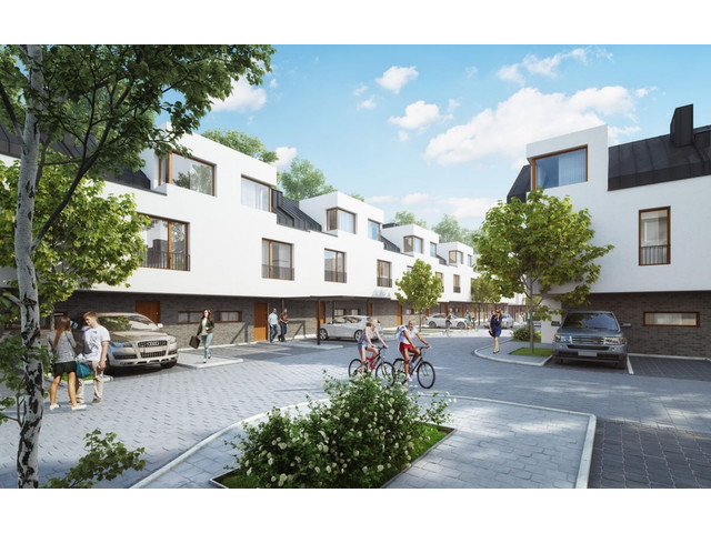 Morizon WP ogłoszenia | Dom w inwestycji Cicha Łąka - segmenty, Józefosław, 119 m² | 6894
