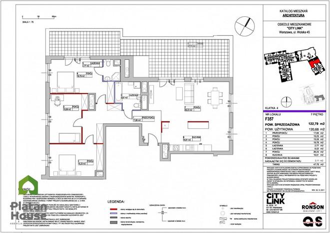 Morizon WP ogłoszenia | Mieszkanie na sprzedaż, Warszawa Wola, 123 m² | 3709