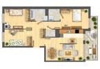 Morizon WP ogłoszenia | Mieszkanie w inwestycji Nowa Myśliwska, Kraków, 80 m² | 5694