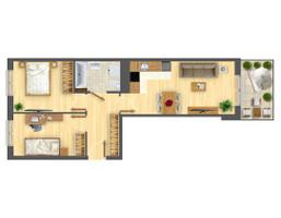 Morizon WP ogłoszenia | Mieszkanie w inwestycji Nowa Myśliwska, Kraków, 52 m² | 5601