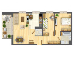Morizon WP ogłoszenia | Mieszkanie w inwestycji Nowa Myśliwska, Kraków, 67 m² | 5603