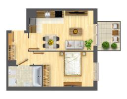 Morizon WP ogłoszenia | Mieszkanie w inwestycji Nowa Myśliwska, Kraków, 39 m² | 5688
