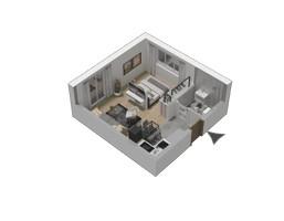 Morizon WP ogłoszenia | Mieszkanie w inwestycji KW51, Kraków, 30 m² | 1285