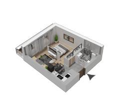 Morizon WP ogłoszenia | Mieszkanie w inwestycji KW51, Kraków, 32 m² | 1216