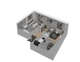 Morizon WP ogłoszenia | Mieszkanie w inwestycji KW51, Kraków, 35 m² | 1205