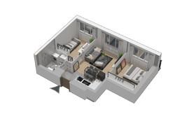 Morizon WP ogłoszenia   Mieszkanie w inwestycji KW51, Kraków, 42 m²   1237