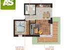 Morizon WP ogłoszenia | Mieszkanie na sprzedaż, Gliwice Obrońców Pokoju, 47 m² | 2838