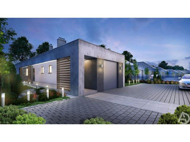Morizon WP ogłoszenia | Dom w inwestycji OSIEDLE AURA, Świlcza, 130 m² | 6226