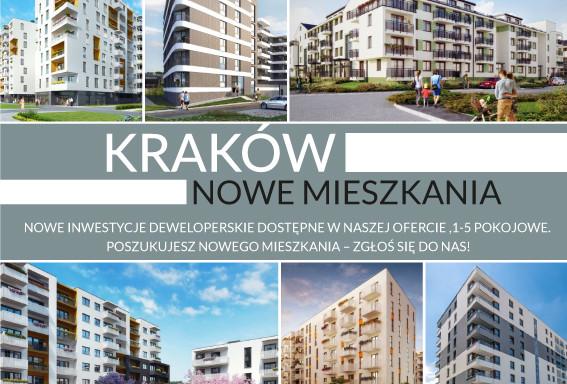 Mieszkanie na sprzedaż <span>Kraków, Bieżanów-Prokocim</span>