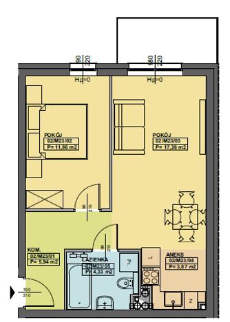 Morizon WP ogłoszenia | Mieszkanie na sprzedaż, Poznań Górczyn, 45 m² | 9910