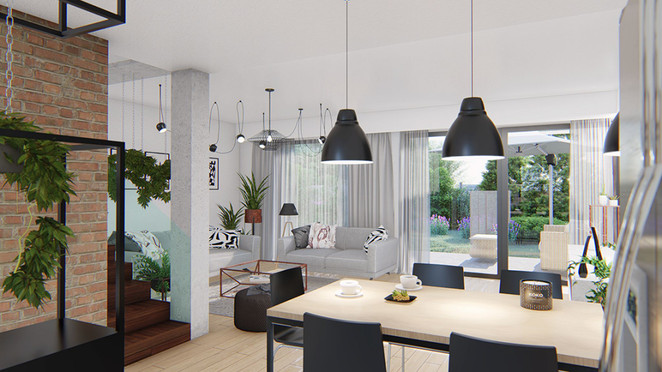 Morizon WP ogłoszenia   Dom w inwestycji KARNISZEWICKA PARK, Pabianice, 141 m²   6072