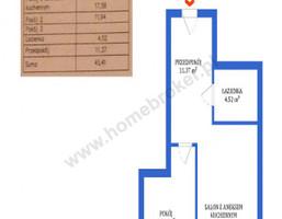 Morizon WP ogłoszenia | Mieszkanie na sprzedaż, Bydgoszcz Szwederowo, 45 m² | 7424