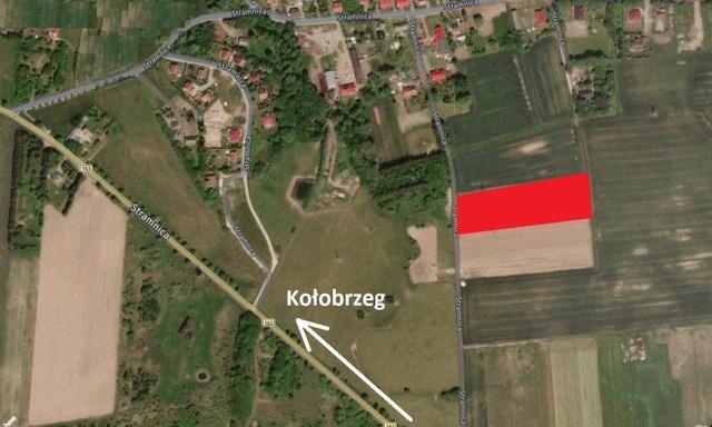 Działka na sprzedaż <span>Kołobrzeski, Kołobrzeg, Stramnica</span>