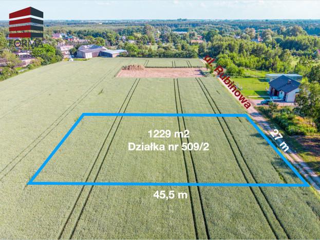 Morizon WP ogłoszenia | Działka na sprzedaż, Jerzykowo Rubinowa, 1229 m² | 2035