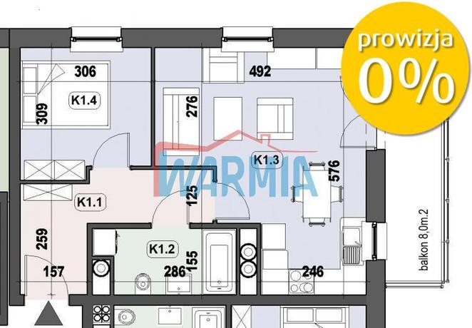 Morizon WP ogłoszenia | Mieszkanie na sprzedaż, Olsztyn Jaroty, 44 m² | 3672