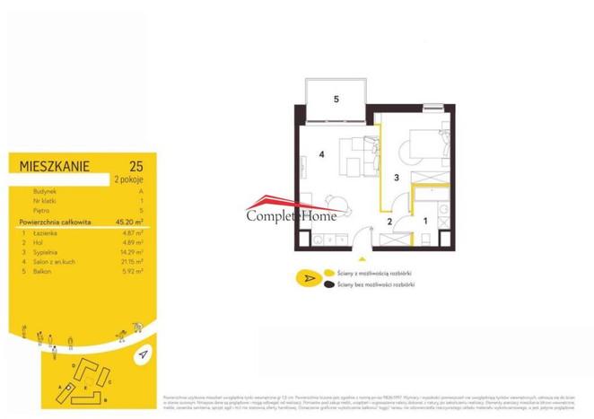 Morizon WP ogłoszenia | Mieszkanie na sprzedaż, Warszawa Mokotów, 45 m² | 4934