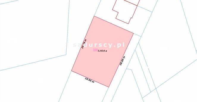 Morizon WP ogłoszenia | Działka na sprzedaż, Wieliczka Pułaskiego, 596 m² | 6597