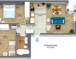 Morizon WP ogłoszenia   Mieszkanie na sprzedaż, Kraków Opatkowice, 68 m²   9809