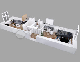 Morizon WP ogłoszenia | Mieszkanie na sprzedaż, Kraków Dębniki, 38 m² | 7771