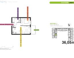 Morizon WP ogłoszenia | Mieszkanie na sprzedaż, Katowice Piotrowice-Ochojec, 36 m² | 8964