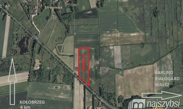 Działka na sprzedaż <span>Kołobrzeski, Kołobrzeg, Stramnica, Centrum</span>
