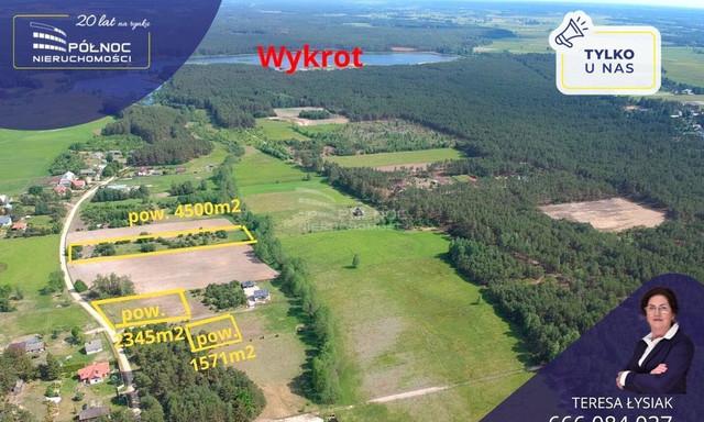 Działka na sprzedaż <span>Ostrołęcki, Myszyniec, Wydmusy</span>