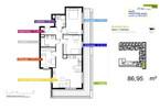 Morizon WP ogłoszenia | Mieszkanie na sprzedaż, Warszawa Mokotów, 87 m² | 4909