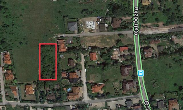 Budowlany na sprzedaż <span>Warszawa, Białołęka, Ostródzka</span>