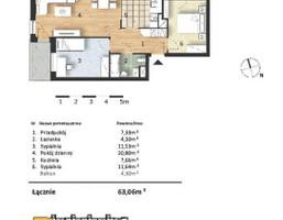 Morizon WP ogłoszenia | Mieszkanie w inwestycji Osiedle Słoneczne, Bydgoszcz, 63 m² | 9324