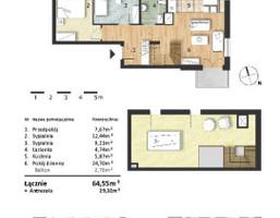 Morizon WP ogłoszenia | Mieszkanie w inwestycji Osiedle Słoneczne, Bydgoszcz, 65 m² | 9305