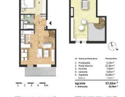Morizon WP ogłoszenia | Mieszkanie w inwestycji Osiedle Słoneczne, Bydgoszcz, 58 m² | 9314