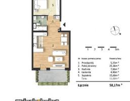 Morizon WP ogłoszenia | Mieszkanie w inwestycji Osiedle Słoneczne, Bydgoszcz, 58 m² | 9310