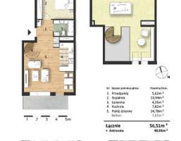Morizon WP ogłoszenia | Mieszkanie w inwestycji Osiedle Słoneczne, Bydgoszcz, 57 m² | 9313