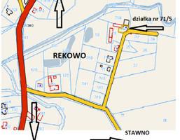 Morizon WP ogłoszenia   Działka na sprzedaż, Rekowo, 432 m²   9040
