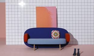 Karim Rashid i jego sofa jak z rysunku