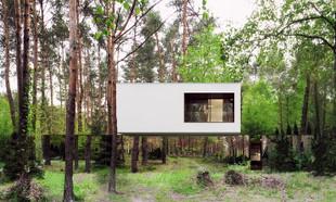Lustrzany dom spod Warszawy podbija świat