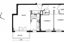 Mieszkanie do wynajęcia, Francja Limeil-Brevannes, 54 m²
